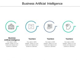 Business Artificial Intelligence Ppt Powerpoint Presentation Gallery Images Cpb