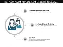 Business Asset Management Business Strategy Training Private Partnerships Cpb