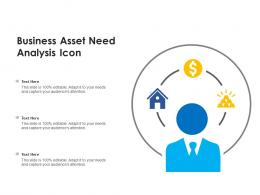 Business Asset Need Analysis Icon
