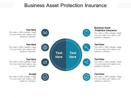 Business Asset Protection Insurance Ppt Powerpoint Presentation Styles Ideas Cpb