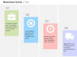 business_bag_cross_time_management_shipping_ppt_icons_graphics_Slide01