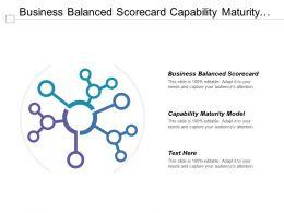 Business Balanced Scorecard Capability Maturity Model Change Control Board