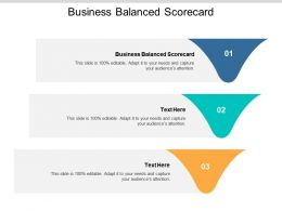 Business Balanced Scorecard Ppt Powerpoint Presentation Slides Example Cpb