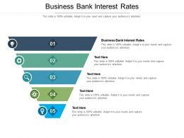 Business Bank Interest Rates Ppt Powerpoint Presentation Portfolio Infographics Cpb