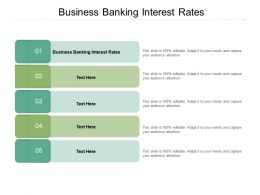 Business Banking Interest Rates Ppt Powerpoint Presentation Ideas Portrait Cpb