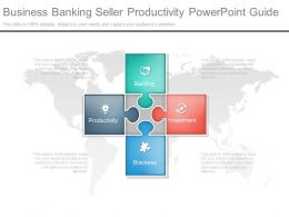Business Banking Seller Productivity Powerpoint Guide