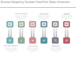 Business Bargaining Template Powerpoint Slides Introduction