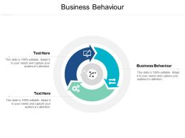 Business Behaviour Ppt Powerpoint Presentation Professional Graphic Tips Cpb