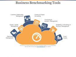 Business Benchmarking Tools Ppt Diagrams