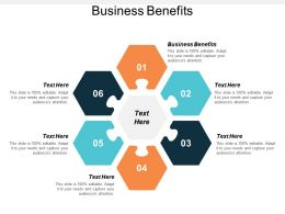 Business Benefits Ppt Powerpoint Presentation File Portfolio Cpb