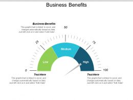 Business Benefits Ppt Powerpoint Presentation Ideas Slideshow Cpb