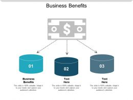 Business Benefits Ppt Powerpoint Presentation Slides Graphics Cpb