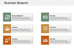 Business Blueprint Ppt Powerpoint Presentation Professional Graphics Cpb