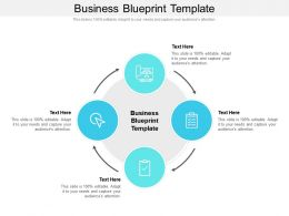 Business Blueprint Template Ppt Powerpoint Presentation Infographic Template Format Ideas Cpb
