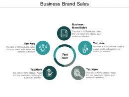 Business Brand Sales Ppt Powerpoint Presentation File Design Templates Cpb