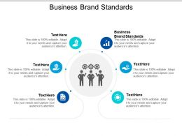 Business Brand Standards Ppt Powerpoint Presentation File Designs Download Cpb