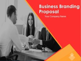 Business Branding Proposal Powerpoint Presentation Slides