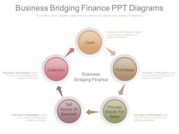 Business Bridging Finance Ppt Diagrams