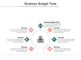 Business Budget Tools Ppt Powerpoint Presentation Outline Slide Cpb