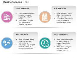 Business Building Stock Market Communication Time Management Ppt Icons Graphics