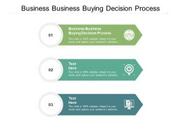Business Business Buying Decision Process Ppt Powerpoint Presentation Slide Cpb