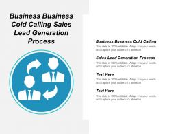 Business Business Cold Calling Sales Lead Generation Process Cpb