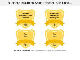 Business Business Sales Process B2b Lead Generation Strategies Cpb