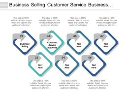 Business Business Selling Customer Service Business Business Teamwork Cpb