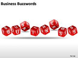 Business Buzzwords Powerpoint Presentation Slides