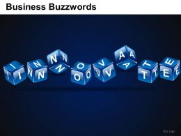 Business Buzzwords Powerpoint Presentation Slides DB