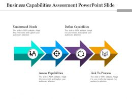 Business Capabilities Assessment Powerpoint Slide
