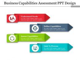 Business Capabilities Assessment Ppt Design