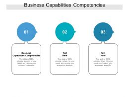 Business Capabilities Competencies Ppt Powerpoint Presentation File Graphic Images Cpb