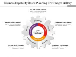 Business Capability Based Planning Ppt Images Gallery