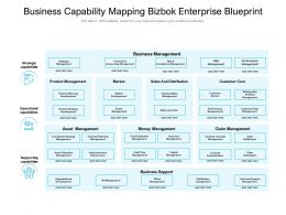 Business Capability Mapping Bizbok Enterprise Blueprint