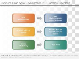 Business Case Agile Development Ppt Samples Download