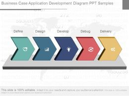 Business Case Application Development Diagram Ppt Samples