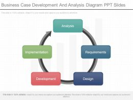 Business Case Development And Analysis Diagram Ppt Slides