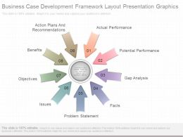 Business Case Development Framework Layout Presentation Graphics