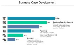 Business Case Development Ppt Powerpoint Presentation Gallery Files Cpb