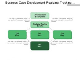 Business Case Development Realizing Tracking Benefits Disruptive Innovation