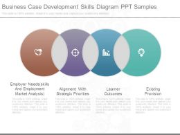 Business Case Development Skills Diagram Ppt Samples