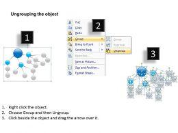 Business Case Diagram Multi Level Strategy Theme Powerpoint Slides 0523