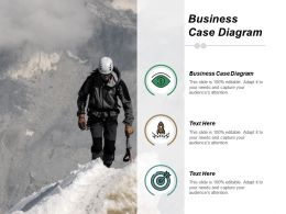 Business Case Diagram Ppt Powerpoint Presentation File Backgrounds Cpb