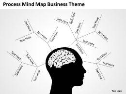 Business Case Diagram Process Mind Map Theme Powerpoint Templates