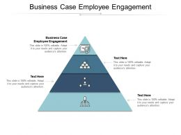 Business Case Employee Engagement Ppt Powerpoint Presentation Outline Samples Cpb