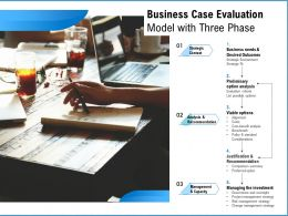Business Case Evaluation Model With Three Phase