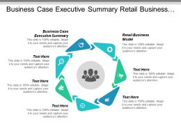 Business Case Executive Summary Retail Business Model Business Analyses Cpb