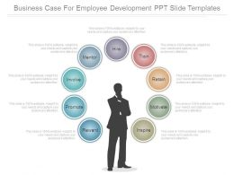 Business Case For Employee Development Ppt Slide Templates