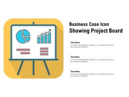 Business Case Icon Showing Project Board
